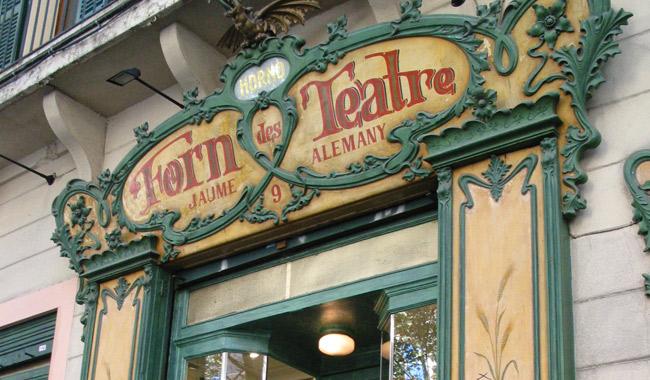 Forn del Teatre, Modernosmo